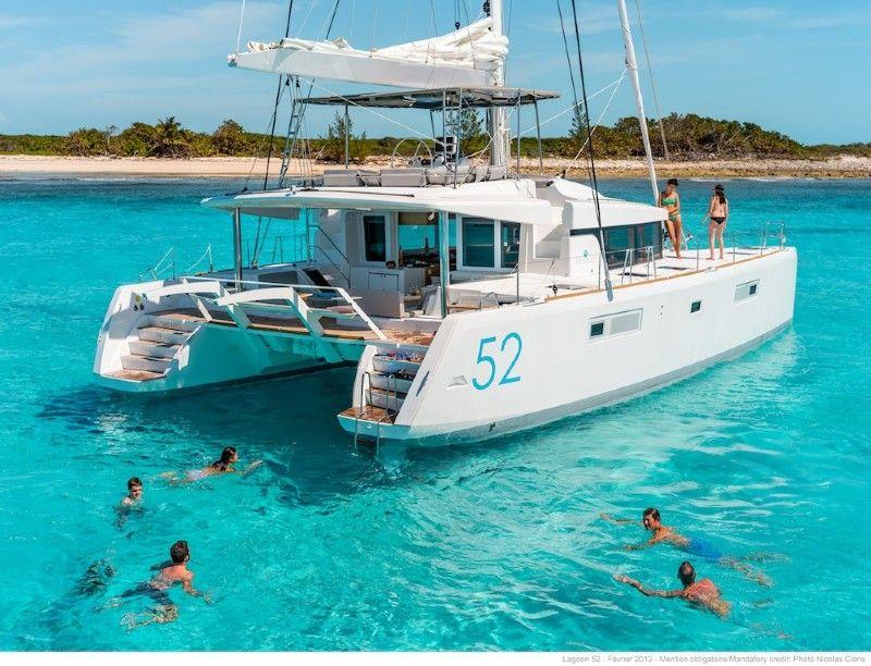 Lagoon 52 booking