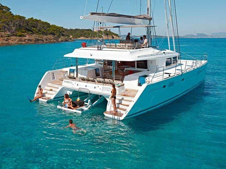 Lagoon 560 charter