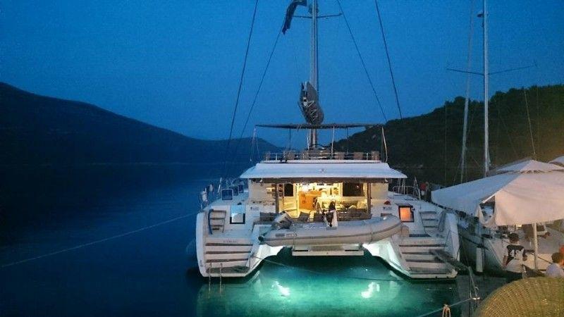 Lagoon 560 sail