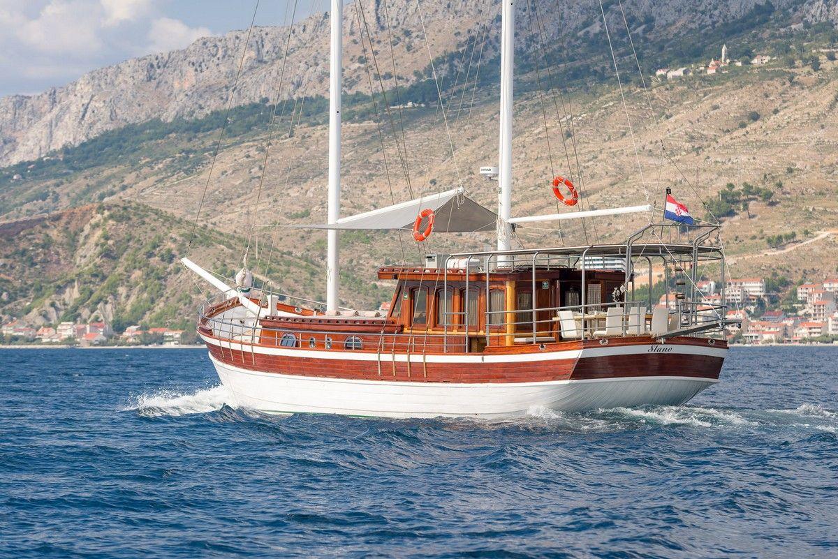 Gulet Slano sail Croatia