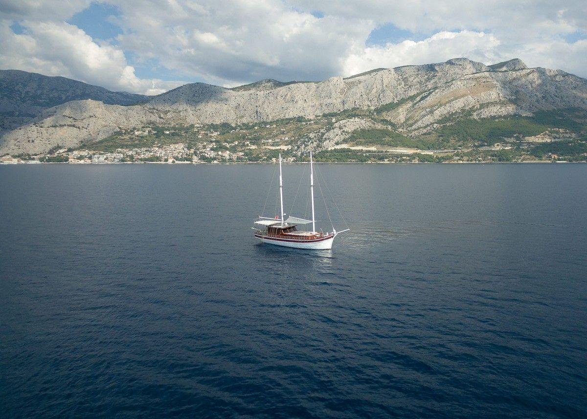 Gulet Slano sail Dalmatia