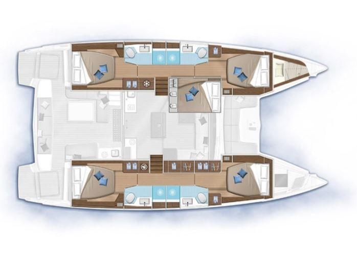 Lagoon 50, Charter, rent, Croatia