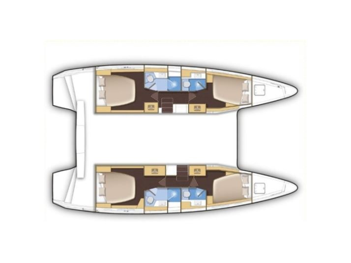 Lagoon 42 Catamaran, Charter Croatia, Catamaran rent Zadar