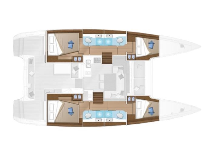Lagoon 40, Catamaran rent Zadar, charter Croatia