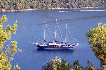 Gulet Horvátország