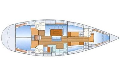 Bavaria 50 Cruiser Dalmatia Charter