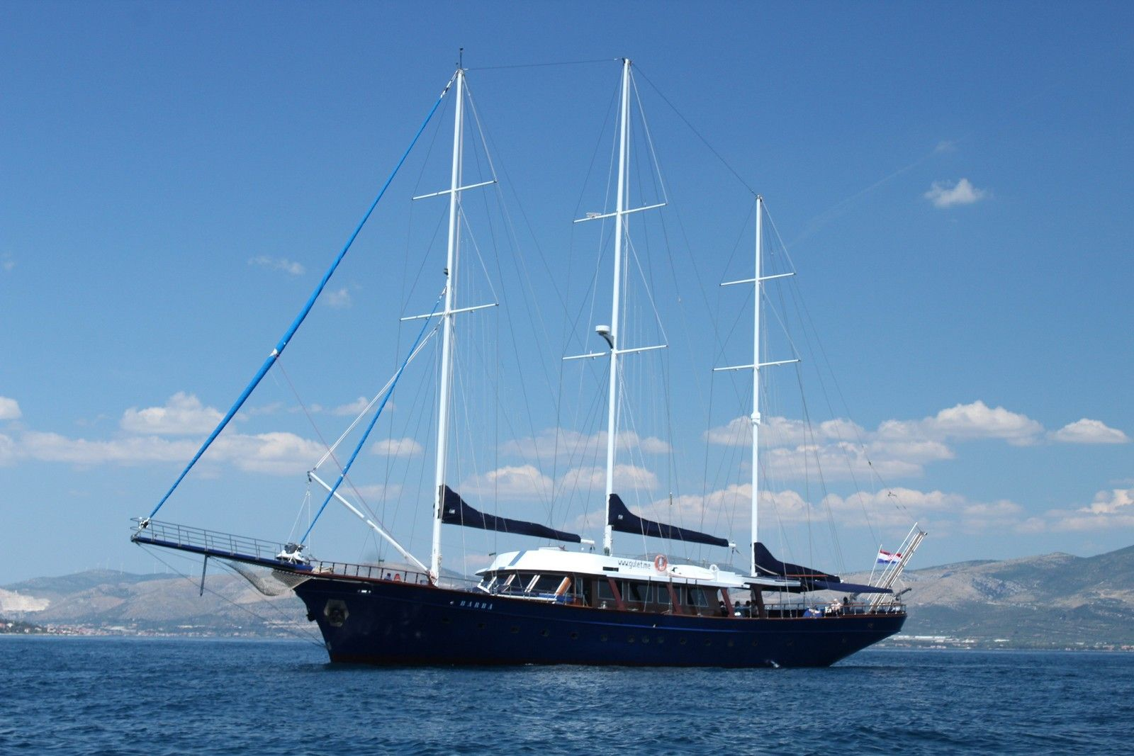 Gulet cruise croatia barba 39
