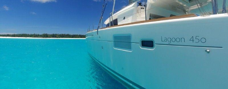 Lagoon 450 F Luxury charter