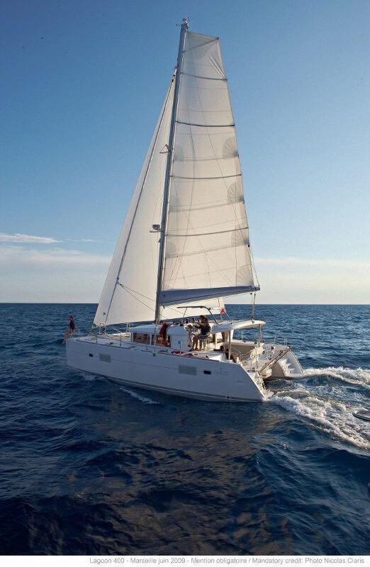 Lagoon 400 S2 catamaran