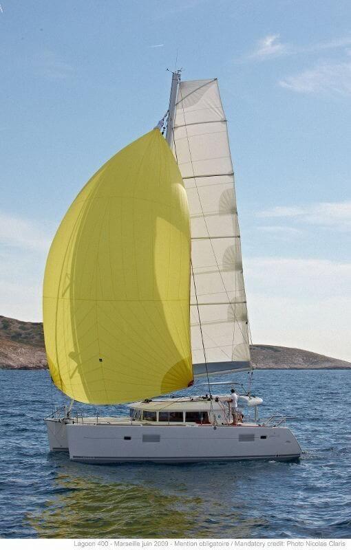 Lagoon 400 S2 sailing Croatia